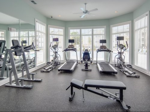 Vinings at Carolina Bays Apartments, Myrtle Beach, SC - Fitness Center 2